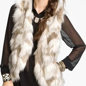 FREE PEOPLE | Call Of The Wild Faux Fur Vest